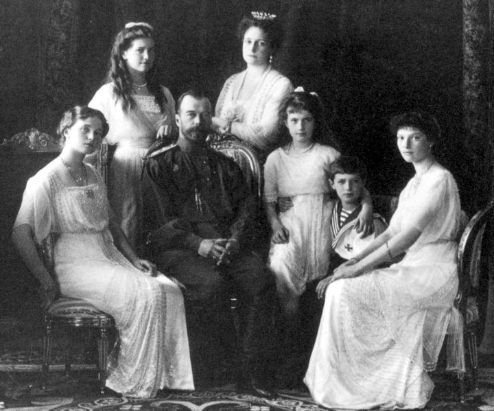 """История Российской империи """" Николай II и его семья"""
