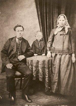 Родители с Николаем