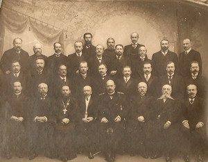 Губернское земское собрание с губернатором Н.Д. Грязевым. Декабрь 1912 г.