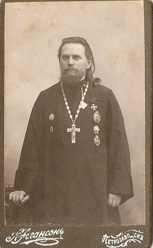 Ректор Олонецкой духовной семинарии прот.Н.Чуков