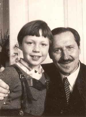 1948 год отец и сын