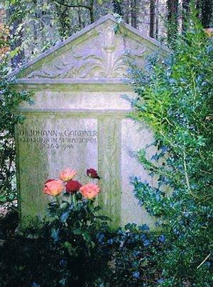 могила И. Гарднера
