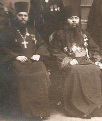 Архиеп. Финляндский Сергий и прот. Н.К.Чуков. 27 января 1912 г.