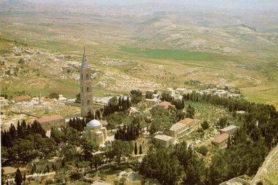 Вид монастыря с высоты птичьего полета
