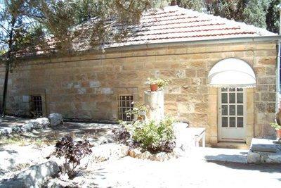 Домик, где был убит о Парфений. Сейчас там располагается библиотека