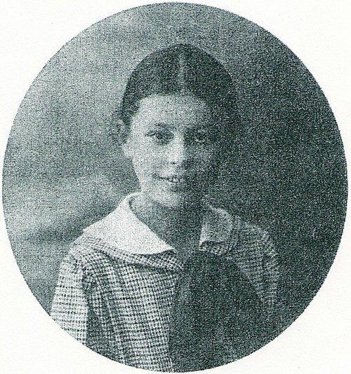 Оксана, дочь Ю.П.Новицкого. 1917 г.