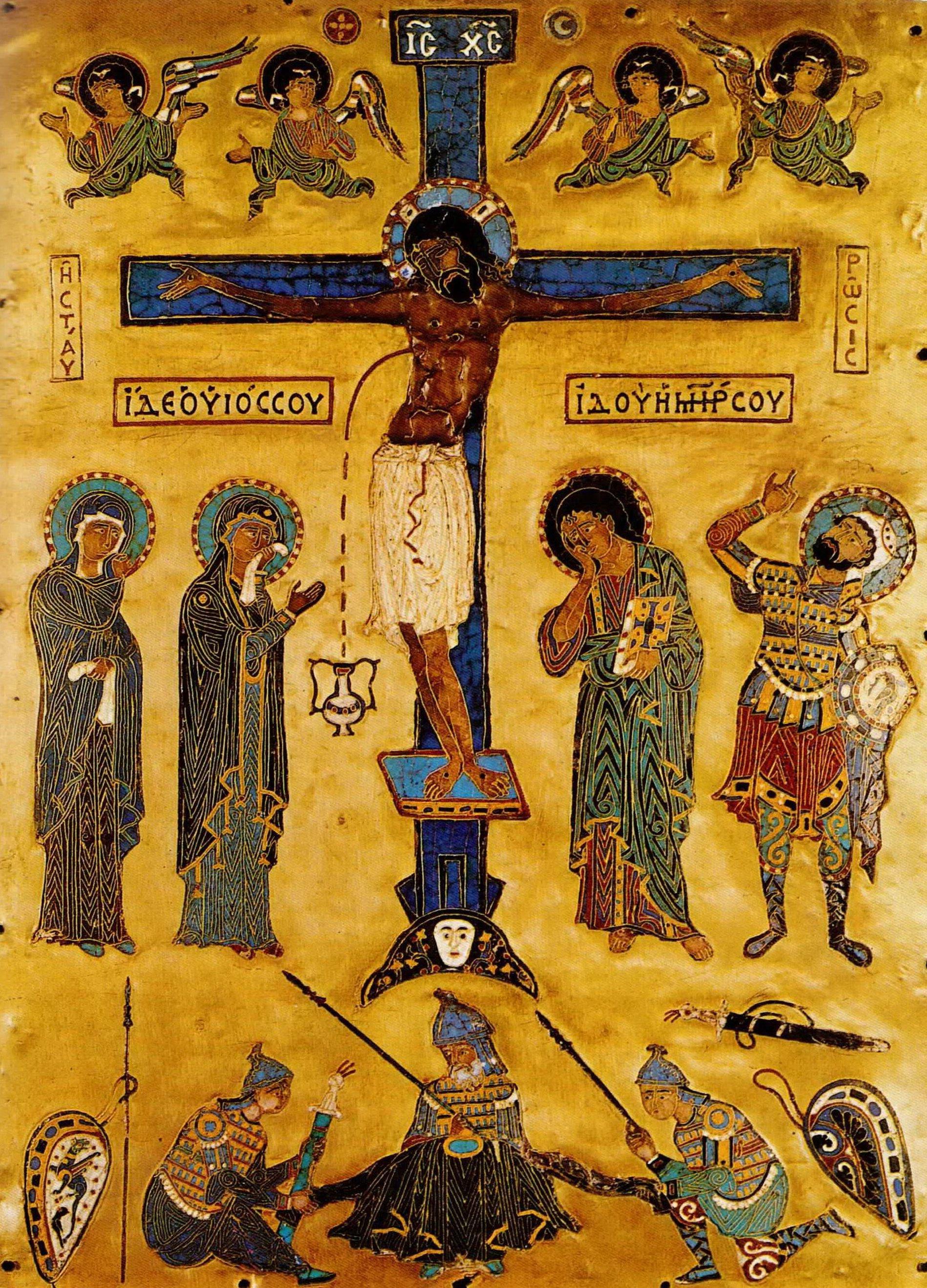 """византийская икона в виде """"золотой доски"""" (Goldene Tafel)"""