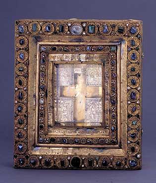 Реликварий в виде креста