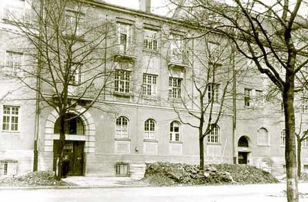 Здание в Мюнхене, где разместился �Дом милосердного самарянина�