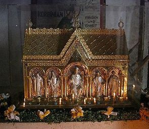 Мощи святого Корбиниана