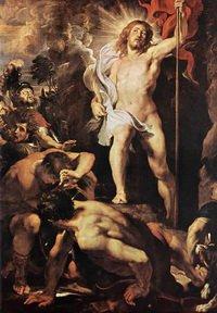 Питер Пауль Рубенс_Воскресение 1612_Антверпен O-L Vrouwkathedraal