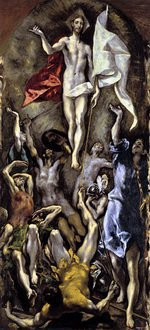 Эль Греко. Воскресение 1584-1594. Прадо