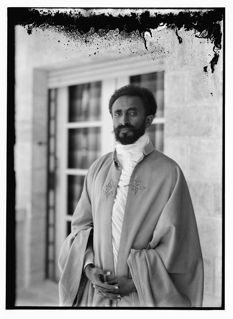 «Хайле Селассие I на вилле Леа». Источник: коллекция Эрика и Эдит Матсон, Библиотека Конгресса США