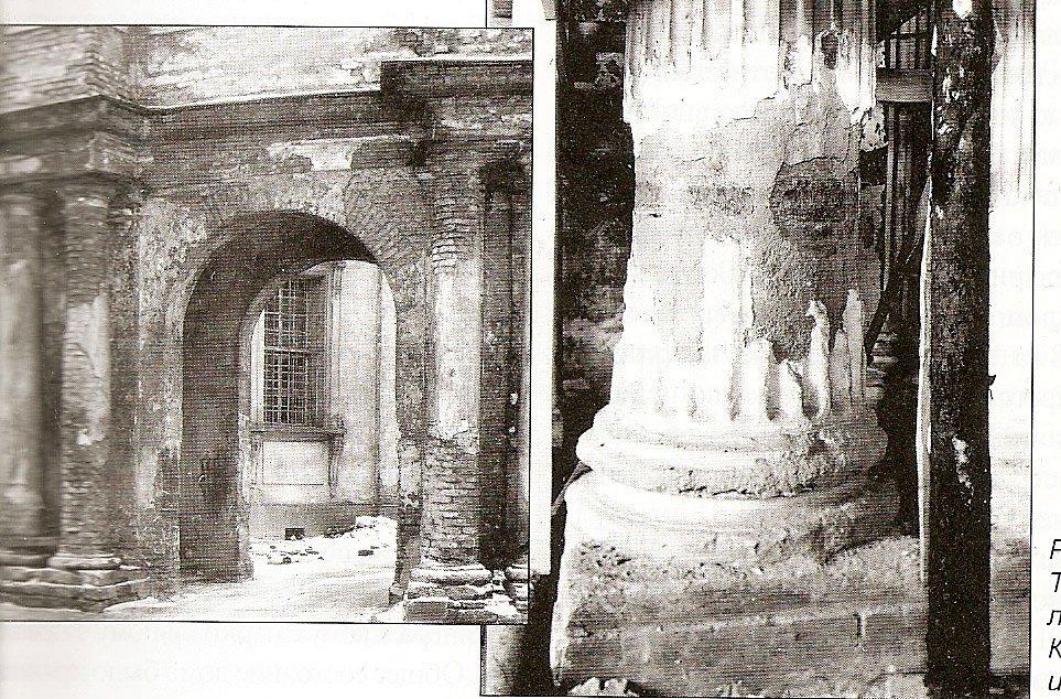 Разрушения Свято-Троицкого собора Лавры. 1940 – 50 гг.