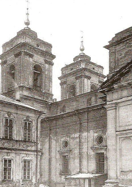 Свято-Троицкий собор Александро-Невской Лавры. Конец 1940-х годов