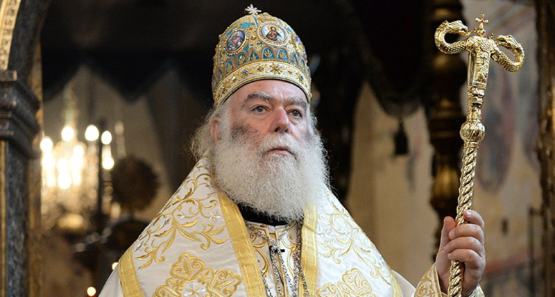 Патриарх Александрийский Феодор II посетил с визитом Армению