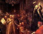 В 1596 г состоялся брестский церковный собор, на котором была заклю-чена уния