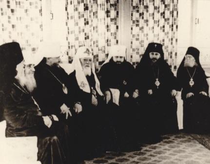 Участники хиротонии архимандрита Антония (Мельникова). 31.05.1964. Одесса.