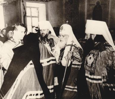 Хиротония архимандрита Антония (Мельникова). 31.05.1964. Одесса. Кафедральный собор_.