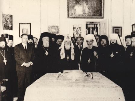Визит Патриарха Болгарского Кирилла. 10.06.1967. Одесса