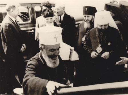 Встреча Патриарха Болгарского Кирилла. 09.06.1967. Одесса