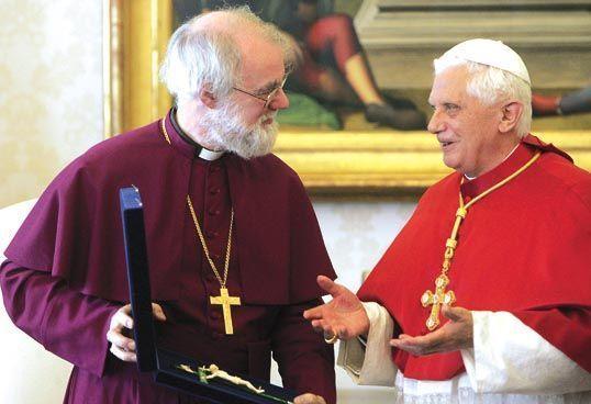 Архиепископ Кентерберийский о визите Папы
