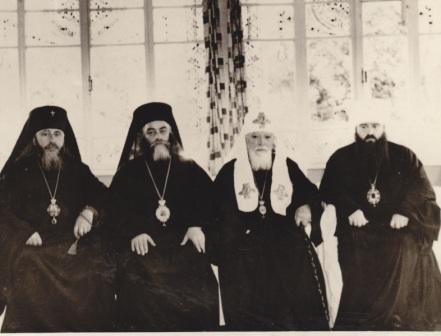 Резиденция Патриарха Алексия в Одессе. 1967 г.