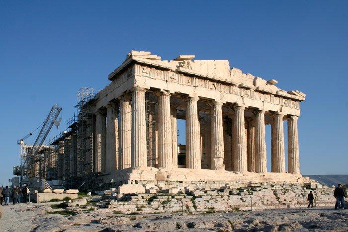 """Акрополь на  """"Святой Горе """" в Афинах означала."""